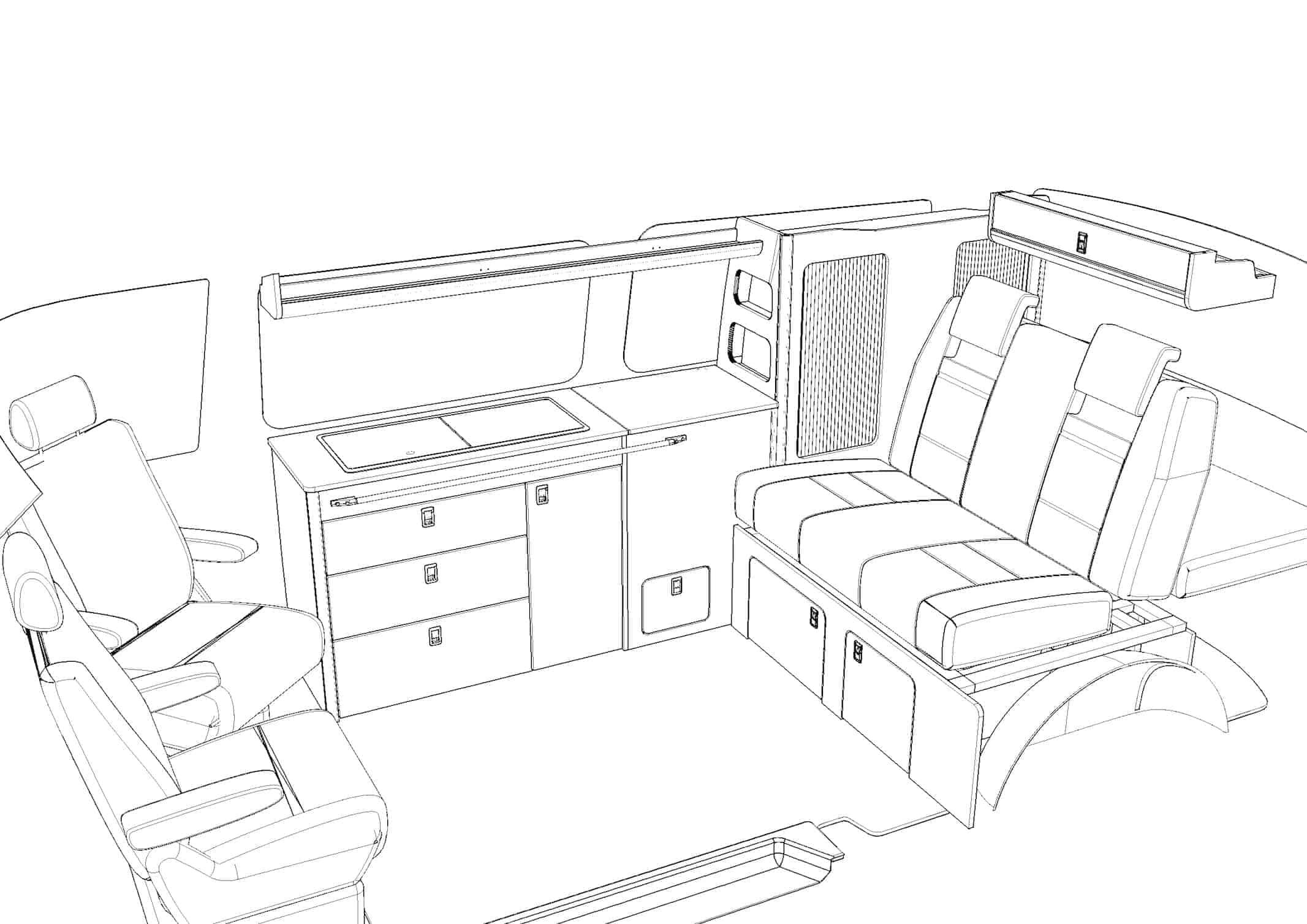 Evo 7 4 Pro Lwb Van T5 T6