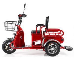 электроскутер грузовой трехколесный купить Киев красного цвета