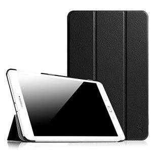 Fintie Samsung Galaxy Tab E 9.6 Étui Housse – Slim Fit PU cuir étui Coque Case Cover avec Support Ultra-Mince et Léger pour Samsung Galaxy Tab E 9,6″ T560N / T561N (9.6 Pouces), Noir