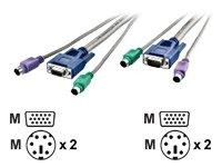 Level One ACC-2009 Daisy Chain Câble pour KVM-0811/1611 90 cm (Import Allemagne)