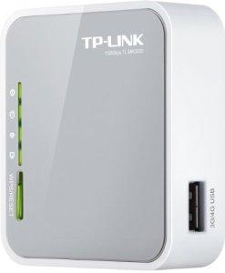 TP-Link Routeur 150Mbps Wi-Fi N, 1 Port USB 2.0, 1 Port Ethernet, Port USB pour clé 3G/4G (TL-MR3020)
