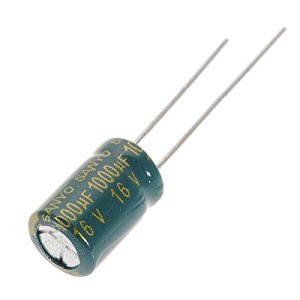 Doradus 1pc 1000uf 16v 105c CONDENSATEUR ELECTROLYTIQUE radial composant en aluminium