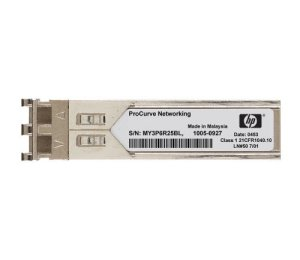 HP X120 Module transmetteur SFP (mini-GBIC) LC module enfichable jusqu'à 15 km