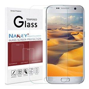 Samsung S7 Protection d'écran,Galaxy S7 Verre Trempé,Nakeey Film Protection en Verre Trempé écran Protecteur Vitre Pour Samsung Galaxy S7