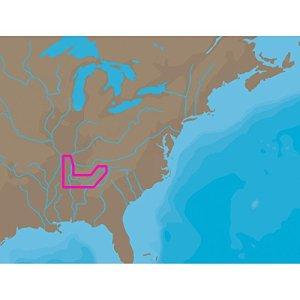 C-MAP NT+ NA-C041 – TN River Paducah-Knoxville – C-Card