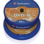 DVD-R 4.7GB 16X 50ER CAKE-