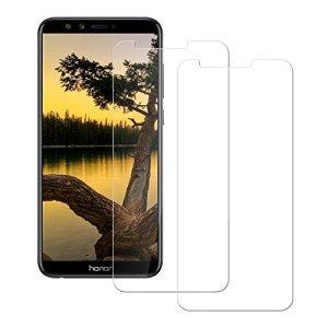 [3-Pièces]Verre Trempé Huawei Honor 9 Lite,Tremmple Film Protection Huawei Honor 9 Lite en Verre trempé écran Protecteur Huawei Honor 9 Lite Ultra Résistant Dureté 9H Glass Screen Protector pour Huawei Honor 9 Lite,Transparent