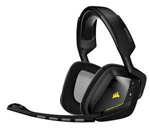Corsair Void Wireless Dolby 7.1Gaming Headset Ecouteurs avec Microphone sans Fil RF Wireless + USB, PC/Jeux, Circumaural, fermé, 20–20000Hz