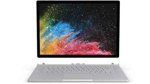 'Tablette Microsoft Surface Book 21,90GHz i7–8650u 153240x 2160pixel Touch Screen Argent Hybride (2en 1)