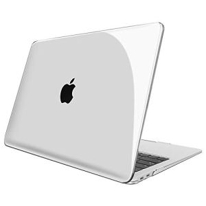 FINTIE Coque pour Nouveau MacBook Air 13 2018 (A1932) – Haute Qualité Plastique Transparent Dur étui Housse, Transparent Clair