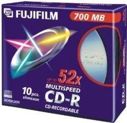 FUJIFILM CD-R x 10 700 Mo