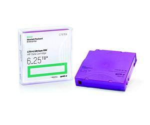HP c7976a 6,25tb MP RW de données et Laser LTO-6Ultrium Noir