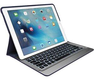 Logitech Create Clavier/Coque pour iPad Pro–Bleu Classique, Argent