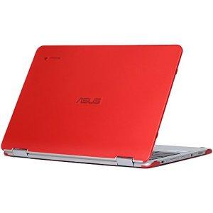 mCover – Coque de Haute qualité pour ASUS 12.5″ Chromebook C302CA – Rouge (C302CA)