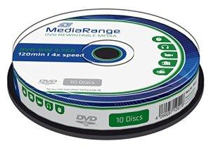 MediaRange 4260057125118 DVD-RW Pochette en papier CD