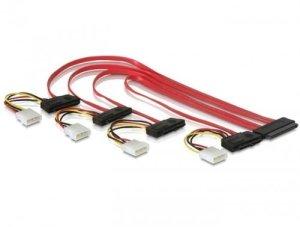 MHE Câble SCSI (ou SAS) 32 pôles vers 4 x 29 pôles, 0,5 m