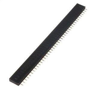 Calli 1 pc 40p 2.54 mm à 40 broches connecteur femelle de connecteur femelle pour Arduino bricolage