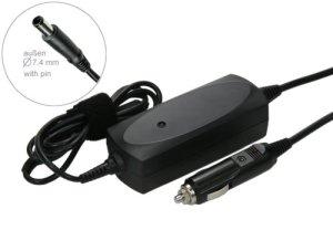 Chargeur allume-cigare avec bloc d'alimentation chargeur adaptateur pour ordinateur portable hP compaq nX7300 nX7400 2210 2210B 2510P 2710P nC8430 nC4400 nX6310 nX6325 omnibook 300 600 2000