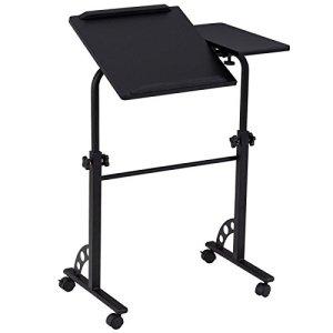 Generic Ving Ro Table d'ordinateur Portable pour Chambre à Coucher, Ordinateur Portable