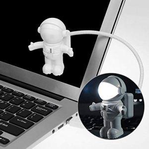 Hangrui Lampe USB LED Lampede Lecture Astronaute Veilleuse Lampe avec Col de Cygne Flexible pour Ordinateur Portable/PC