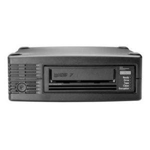Hewlett Packard Enterprise StoreEver LTO-7 Ultrium 15000 External Lecteur Cassettes 6000 Go – Lecteurs Cassettes (LTO, 2.5:1, Série Attachée SCSI (SAS), 5.25″ Mi-Hauteur, Noir, 6000 Go)