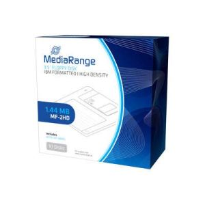 Mediarange disquete mf2hd mr200-02 1.44mb Pack 10 uds