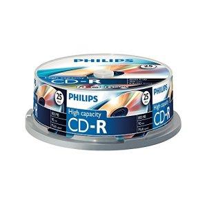Philips 908210004641 Pack de 25 CD-R 800 Mo