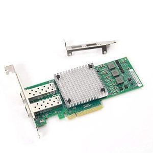 10Gtek® Carte Réseau 10GbE PCIE Broadcom 57810S Chip, Dual SFP+ Ports, 10Gbit PCI Express x8 LAN Adapter, 3-Year Warranty