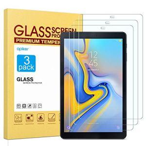 apiker Lot de 3 Verre Trempé Compatible pour Samsung Galaxy Tab A 10.5 2018 (T590/T595/T597) Durabilité Exceptionnelle, Protection écran pour Samsung Galaxy Tab A 10.5 2018