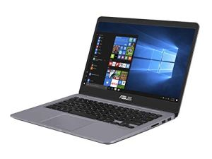 Asus Vivobook S S410UA-EB1056T PC portable 14″ Gris métal (Intel Core i3, RAM 8Go, 1 to + SSD 128 Go, Windows 10) Clavier AZERTY Français