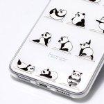 Baiwoda Coque Huawei P8 Lite 2017 Housse en Silicone TPU Coque Clair Transparent Étui Souple Mince Coque Légère Flexible Housse de Protection avec Design Unique-Kung Fu Panda