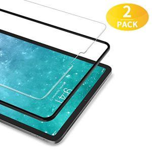 BANNIO Verre Trempé pour iPad Pro 11″ 2018 / iPad Pro 11 Zoll 2018,[2 Pièces] Film Protection écran en iPad Pro 11 Zoll 2018,HD Transparent,Dureté 9H,Anti Rayures,sans Bulles,avec Kit d'Installation.