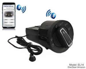 EL14 Bluetooth App Commande Phare Feux, Brouillard Lumière Interrupteur de Contrôle Unité, auto commutateur, Coming Leaving Home Relais – A4 B6 B7 S4 Quattro (8E0941531C, 8H0941531)