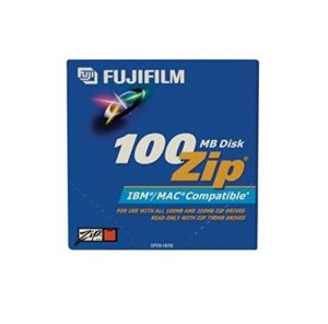 Fujifilm 5pk Zip Data Cart 100 MB-pc/Mac FMT (25275005)