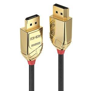 Lindy 38473 Câble Fibre Optique Hybride DisplayPort 30 M