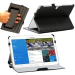 Navitech Samsung Galaxy Tab Pro 10.1 housse à rabat en simili cuir avec support (noir)