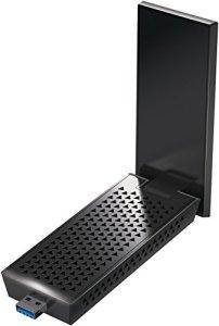 Netgear – A7000-100PES Adaptateur Wifi USB Nighthawk sans Fil pour l'Ordinateur Portable ou de Bureau avec la Technologie 802.11ac Nouvelle Génération et des Vitesses Pouvant Atteindre 1,9 Gbit/s