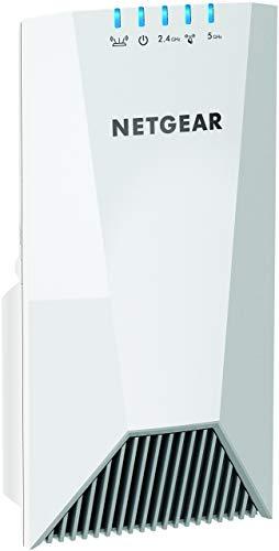 NETGEAR EX7500-100PES répéteur tri-band Nighthawk Mesh Wifi 2.2 Gigabit/s – La Meilleure Couverture Wifi pour Tous Vos Appareils Connectés , compatible avec toutes les Box Internet