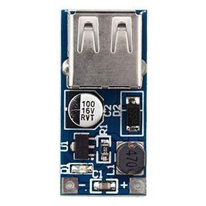Nihlsfen High Efficiency 0.9V-5V to 5V 600MA DC-DC Booster Module USB Mobile Step-up Professional Power Supply Module