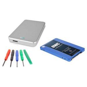 OWC disque dur SSD kit de mise à niveau: Mercury Extreme Pro 6,3cm 6G SSD 7mm, Express 6,3cm USB 3.0Boîtier de disque dur, et 5pièces par Excellence 2.0 TB