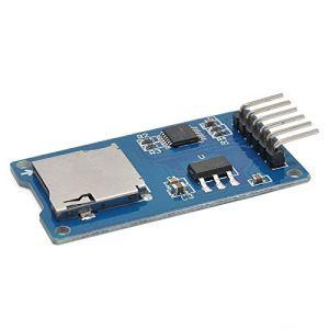 XZANTE Carte de Stockage Micro-SD Carte Micro-SD TF Module D'Extension de Bouclier de Memoire SPI pour pour Arduino DIY