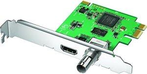 Blackmagic Design DeckLink Mini Recorder carte d'acquisition vidéo Interne PCIe – Cartes d'acquisition vidéo (NTSC,PAL, 1080i,1080p,720p, 48 kHz, 57 g)