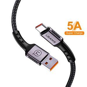 Câble USB C 2.0,Cable USB Type C Nylon Tressé Chargeur Connecteur pour Samsung S9/S8/Note 8,Huawei P20/P20 Pro P10/P10 Plus, Mate 10/Mate 10 Pro Mate 9/Mate 9 Pro Honor 10