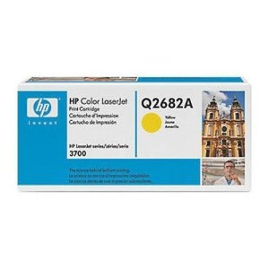 Hewlett Packard HP 311A Color Laserjet 3700 Smart Print Cartridge, Yellow (6,000 Yield) , Part Number Q2682A by HP