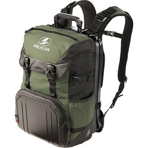 Pelican Progear S100 Sac à Dos Vert – Sacoches d'ordinateurs Portables (Étui Sac à Dos, 3,24 kg, Vert)