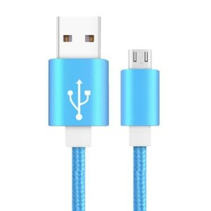 Pencilupnose© Câble USB Type C , 1m Cable USB C Chargeur Rapide Nylon Tressé Câble de Charge