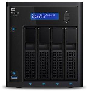 WD My Cloud Pro PR4100 Boîtier NAS – 4 Baies – WDBNFA0000NBK-EESN