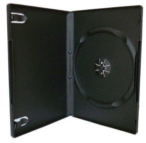 100boîtiers DVD simple Noir–14mm–Par dragontrading®