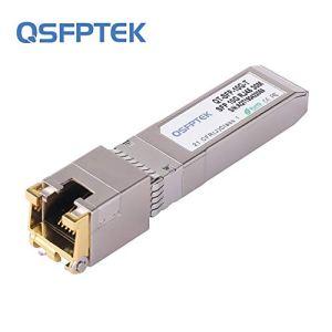 10Gb SFP+ RJ45 Cuivre Module, 10GBase-T SFP+ Transceiver pour Cisco SFP-10G-T-S, Ubiquiti UF-RJ45-10G, Netgear, TP-Link, D-Link, 30m
