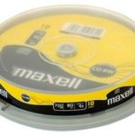 CD-RW 1-4X SPINDLE 10PK, MAXELL 624039 By MAXELL